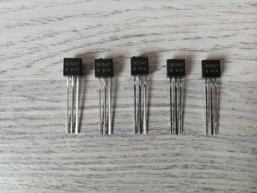 BC547 NPN Transistor Set Van 5 Stuks