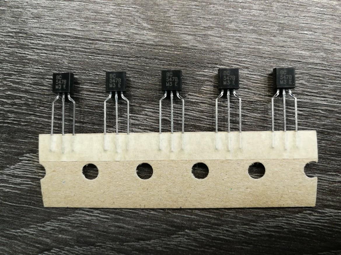 BC547B NPN Transistor Set Van 5 Stuks