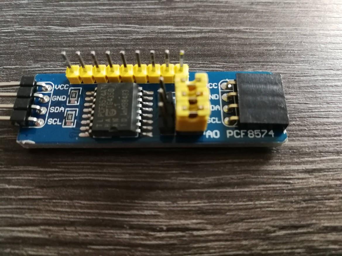 I2C PCF8574 I/O Expander