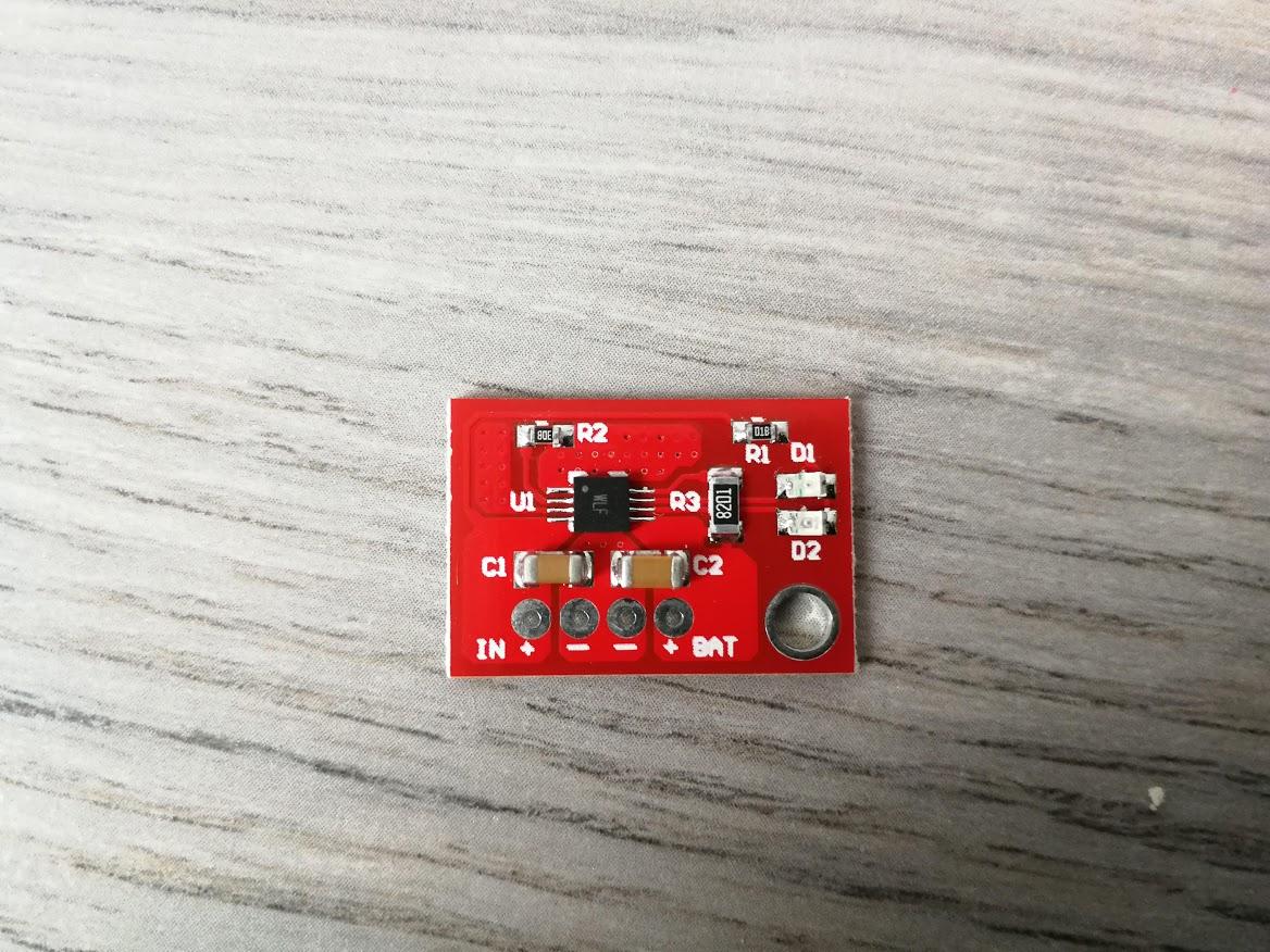 900MA Lipo Zonne-energie Oplader (CN3065 BMS Met Indicator)