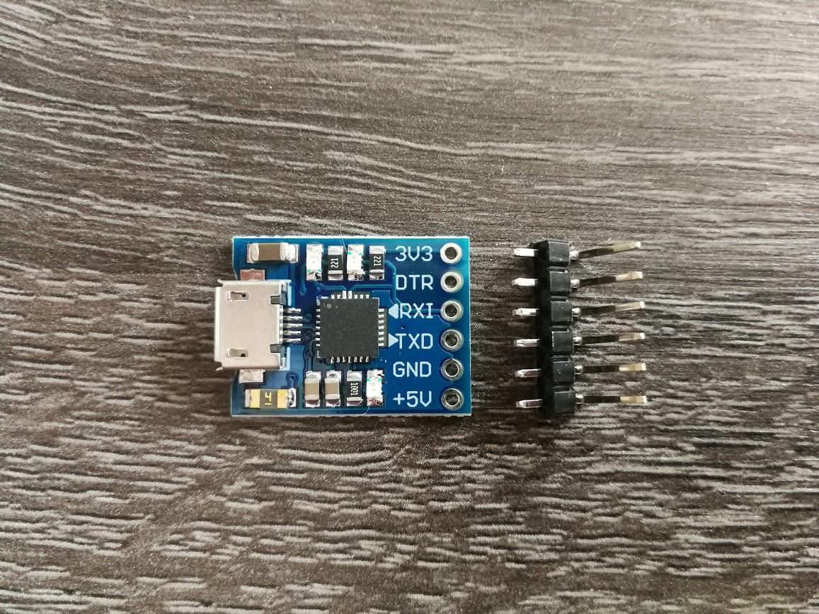 Cp2102  Micro FTDI Serial Converter
